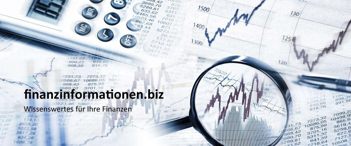 finanzinformationen.biz - Wissenswertes für Ihre Finanzen